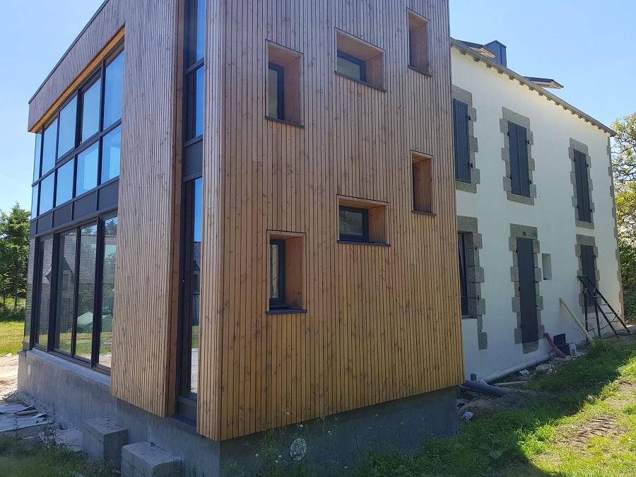 Une rénovation dont la conception et a maîtrise d'oeuvre est le fait du cabinet URSAULT (Trégunc - 29).